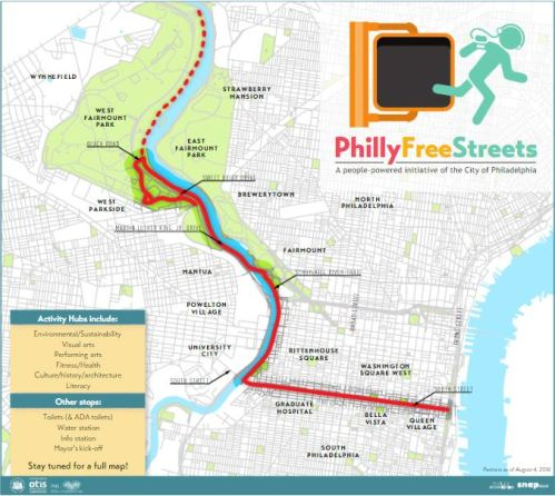 Philly Free Streets Press Release  Office Of Special Events