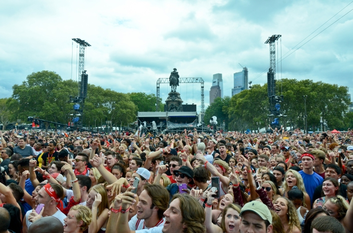 Made in America Music Festival Crowd