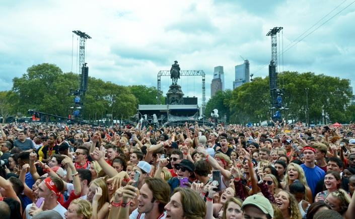 Made in America Music Festival Crowd